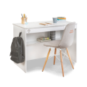 Masa de birou, pentru copii si tineret Colectia White 113x59x75 cm